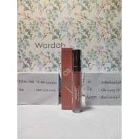 Wardah exclusive matte lip cream 03 see you latte / lipstick lipstik