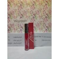 Wardah exclusive matte lip cream 01 red dicted / lipstik lipstick