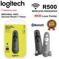 LOGITECH R500 Wireless Presenter Remote with Red Laser Pointer R-500