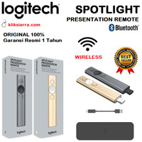 LOGITECH SPOTLIGHT Wireless Bluetooth Remote Laser Pointer Presenter