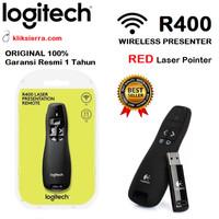 LOGITECH R400 Wireless Presenter Remote with Red Laser Pointer R-400