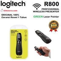 LOGITECH R800 Wireless Presenter Remote with Green Laser Pointer R-800