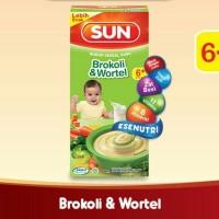 SUN Bubur Bayi Susu Brokoli Wortel Kotak 120 gr