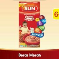 SUN Bubur Bayi Susu Beras Merah Kotak 120 gr