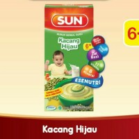 SUN Bubur Bayi Susu Kacang Hijau Kotak 120 gr