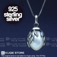 Kalung Silver 925 Mutiara Air Tawar Asli KM05