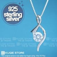 Kalung Perak Silver 925 With Zircons KS16