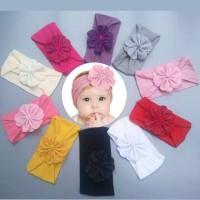 bandana bayi impor headwrap bayi cantik bando bayi imut