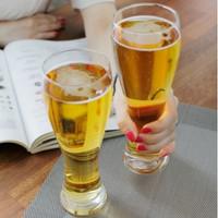 Gelas Bir Borgonovo Pantheon Beer Glass Putih dan Hitam Made in Italy