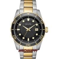 Diver Models BULOVA ORIGINAL 100% 98A199 Combi Gold BestSeller GARANSI