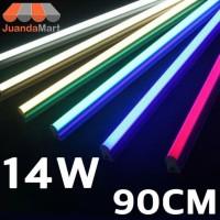 Lampu TL Neon T5 LED 14W 90cm Tube Warna Warni - Kuning
