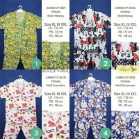 PIYAMA Size XL-XXL CP Katun Japan Ori Motif Set Baju Tidur Wanita JBCP