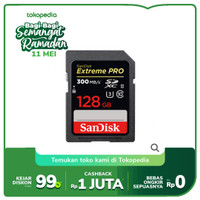 SanDisk Extreme Pro SDXC UHS-II Card 128GB