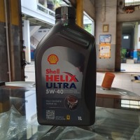 Oli Shell Helix Ultra 5W 40 Fully Synthetic 1L Diesel dan Gasoline
