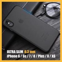 iPhone Soft Case 6 6s 7 8 Plus X Silicon Slim Matte Silicone Casing