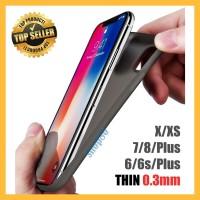Casing Auto Focus iPhone X 6 7 8 Plus Slim Soft Case AutoFocus Clear