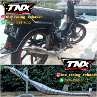 Knalpot Suzuki Rc100 Kolong Samping Stainless TNX Racing Exhaust