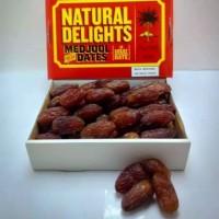 kurma medjool natural delight 500gram
