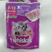 whiskas mackerel junior 85g