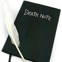 Anime Death note book+ Free pulpen Bulu(Segel Tinta)