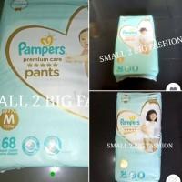 murah pampers premium care pants M68 L62 XL54 M 68 L 62 XL 54