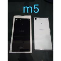 Tutup Casing Belakang Sony M5 / M5 Aqua Back Door Backdoor