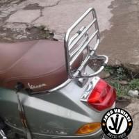 Aksesoris Vespa / Back Rack / Backrack Vespa LX dan S