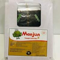 manjun triangle sushi nori 100sheet product of korea
