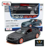 Maisto 1: 24 M4 GTS Perakitan mobil Diecast Logam Paduan Mobil