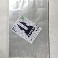 kantong plastik bening uk 10x15 plastik bening