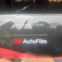 KACA FILM MOBIL 3M BLACK BEAUTY KACA DEPAN