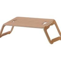 Ikea BRADA Alas laptop/ meja laptop, lapisan bambu Ukuran 42x30 cm