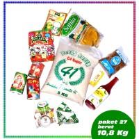 Paket No 27 Parcel Sembako Beras Parsel Makanan Super EXP DATE AMAN