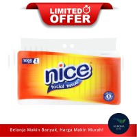 [LIMITED OFFER] NICE Facial Tissue Non Perfumed 2 Ply 1000gr
