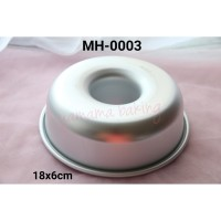 MH-0003 Loyang cetakan roti sobek puding lumut chiffon marble cake