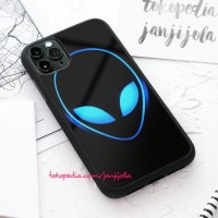 Casing hard case iPhone 11 X Xs 8 7 6 6s Pro Max Plus Alienware Logo