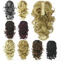 Wig / Rambut Palsu Wanita Model Panjang Keriting Gelombang Bahan