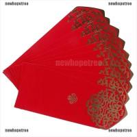 10Pcs Amplop Angpao Tahun Baru Cina Imlek / Tahun Baru Cina Warna