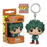 New Funko POP Anime My Hero Academia Deku Action Figure Key Chain TG