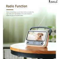 TE Portable Retro Mini Bluetooth Speaker TV Design Mobile Phone