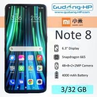 Xiaomi Redmi Note 8 3/32 GB Garansi Resmi - Hitam