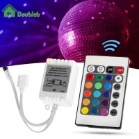 x 24 Key IR Remote Controller DC 12V for RGB 5050 SMD LED Strips Wi TG