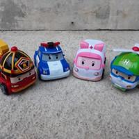 Set Robocar Poli Amber Heli Roy - Mainan Anak Edukatif - Edukasi