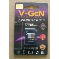 Micro Sd memoy card memori hp V-GeN 16gb class 10 Turbo + Adapter