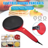 Panci Crepe Elektrik Portable Anti Lengket untuk Membuat Pizza Panc TG