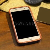 Edge S7 Casing Pelindung Bahan Kayu untuk Samsung Galaxy S7