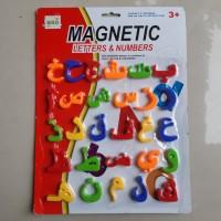 Magnetic Huruf Hijaiyah Edukatif Mainan Anak Magnet Arab Edukatif