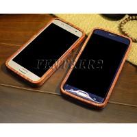 Casing Pelindung Bahan Kayu untuk Samsung Galaxy S7 Edge S7