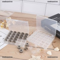 1Pc Bobbin Box Sewing Thread Organizer Multi Usage 25 Bobbins Flo