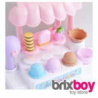 Mainan Anak Perempuan Gerobak Ice Cream Store Cart 5931 Brixboy